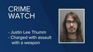 Justin Lee Thumm has been charged after he allegedly threatened a person with a shotgun in Great Falls.