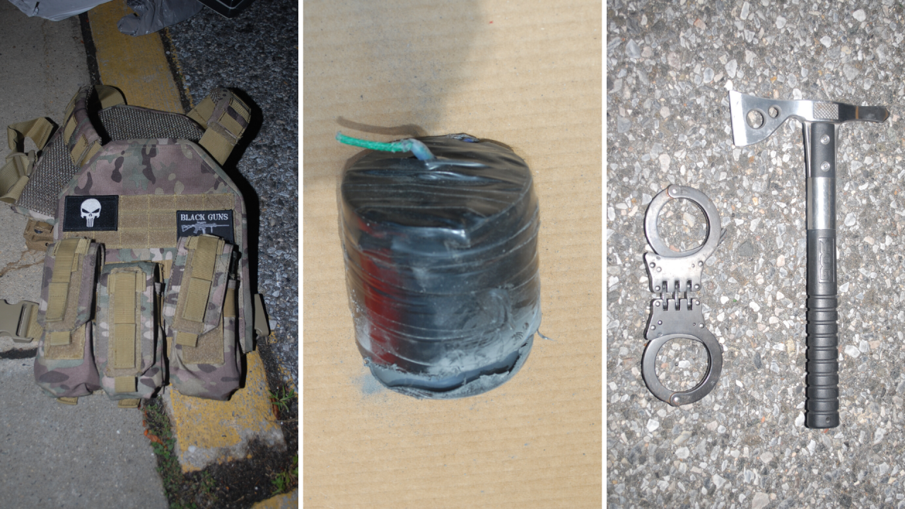 Devices police recovered at Stony Brook Hospital
