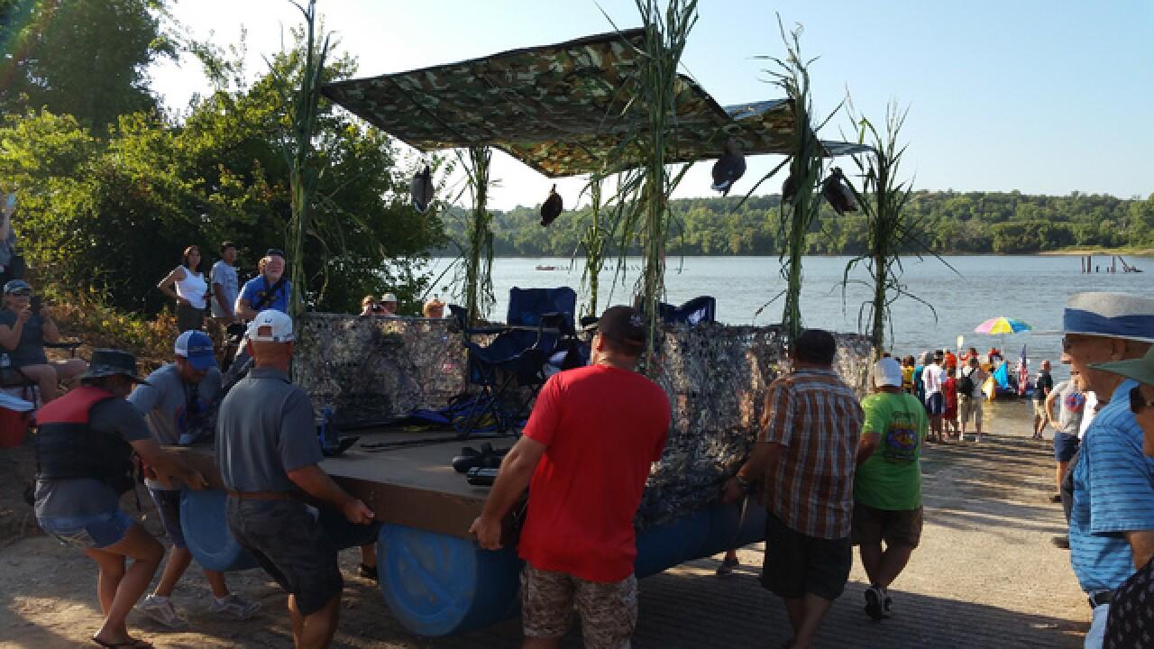 Tulsa's Great Raft Race 2015
