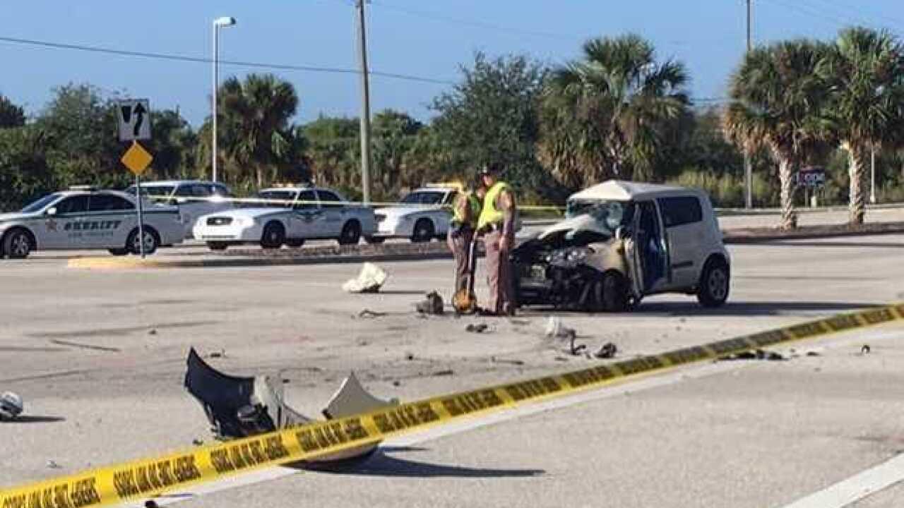 Fatal crash on Gladiolus Drive Wednesday morning