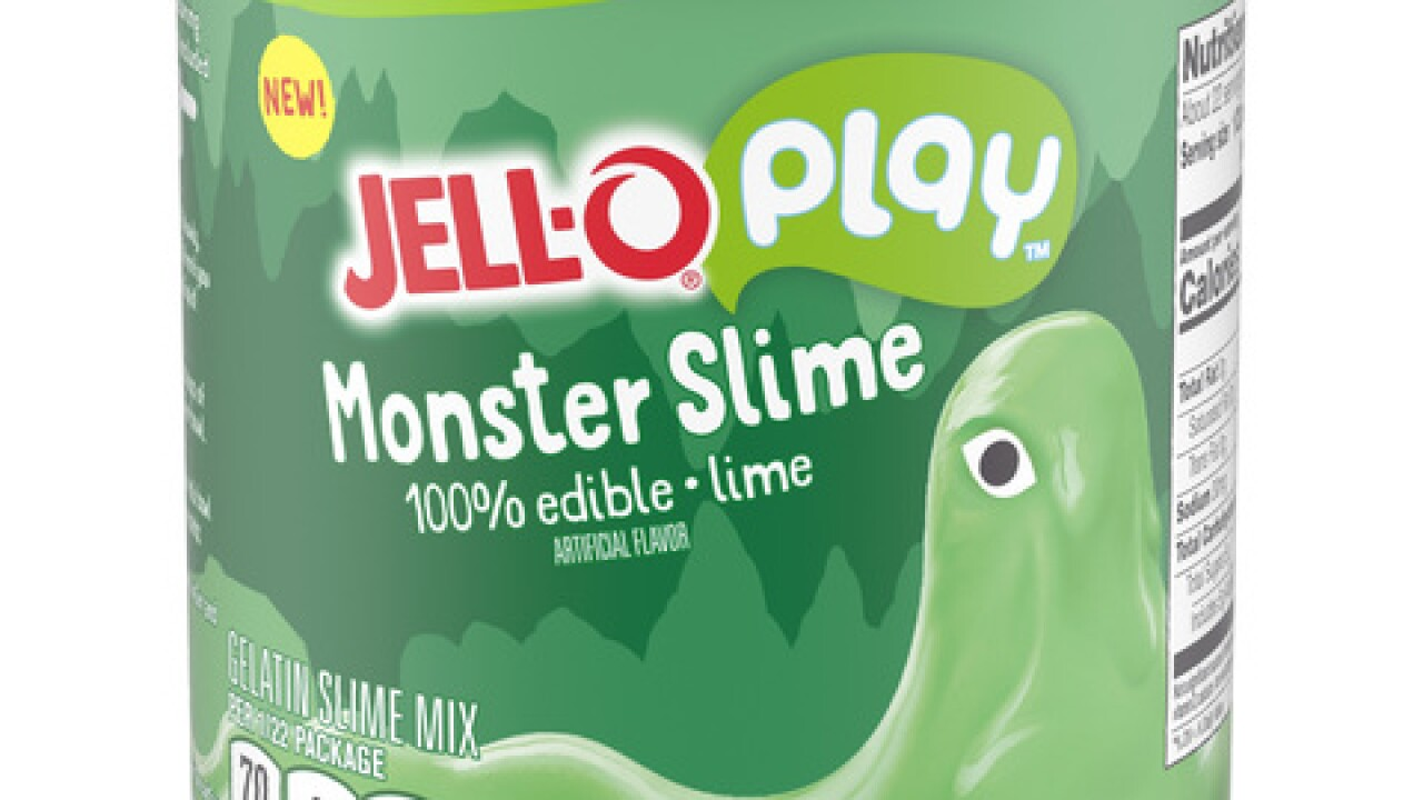 Jell-O introduces its first edible slime