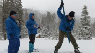 sierra nevada snowpack 2