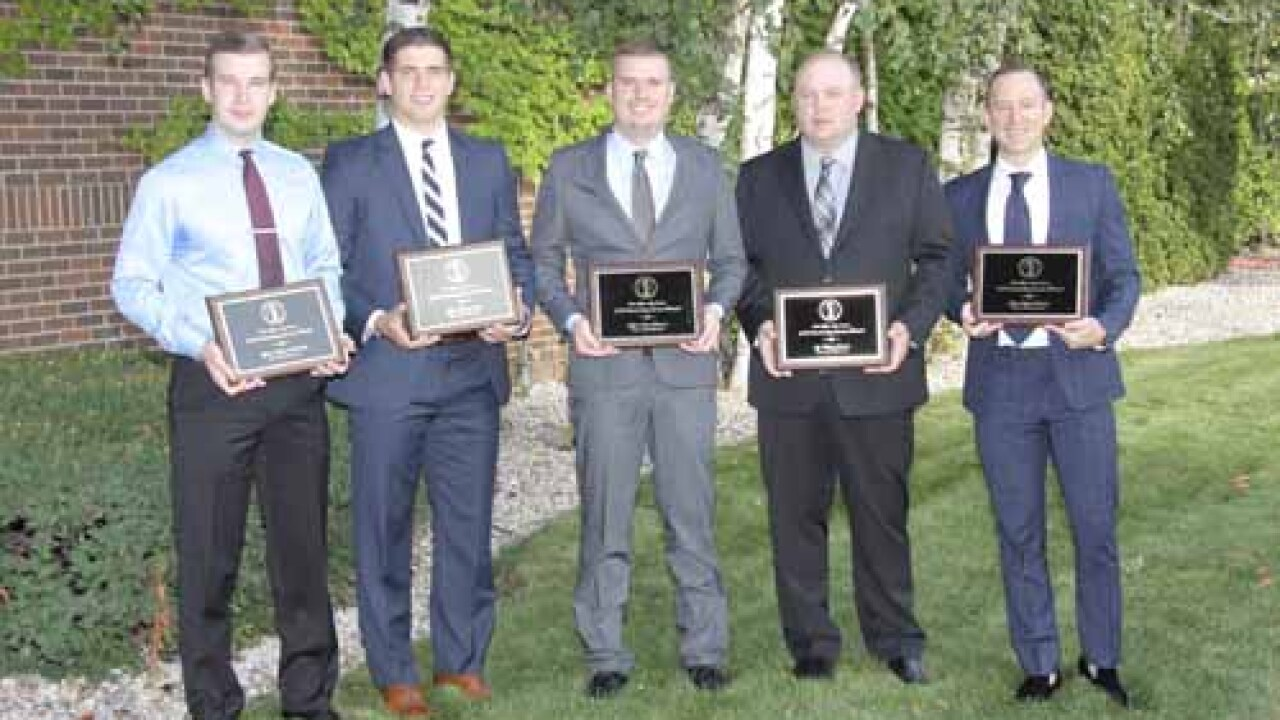 Seven Officers Honored for Risking Their Lives to Save Victims