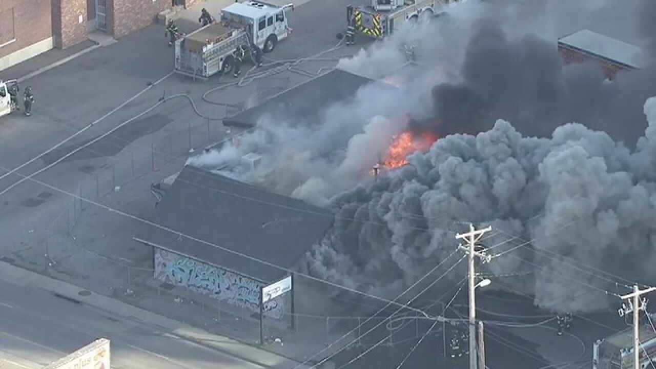 Abandoned club: 'A total loss' after Friday fire