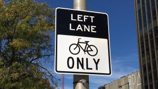 new denver protected bike lane sign.JPG