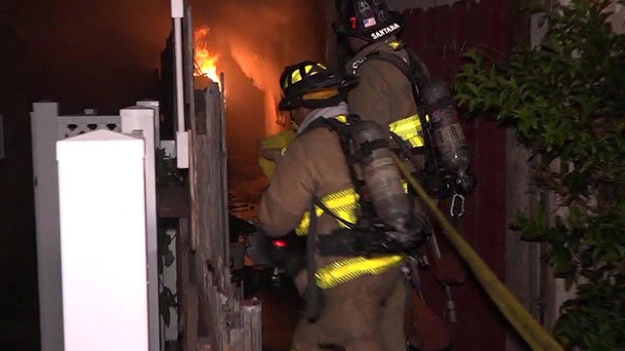 Family flees Oak Park house fire; dog injured