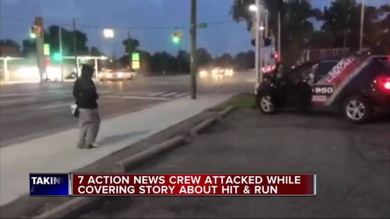 7 Action News crew attacked while covering story