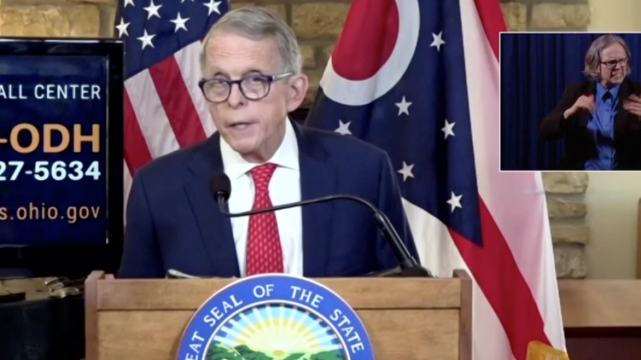 Ohio Governor Mike DeWine gives his forecast on a COVID-19 vaccine