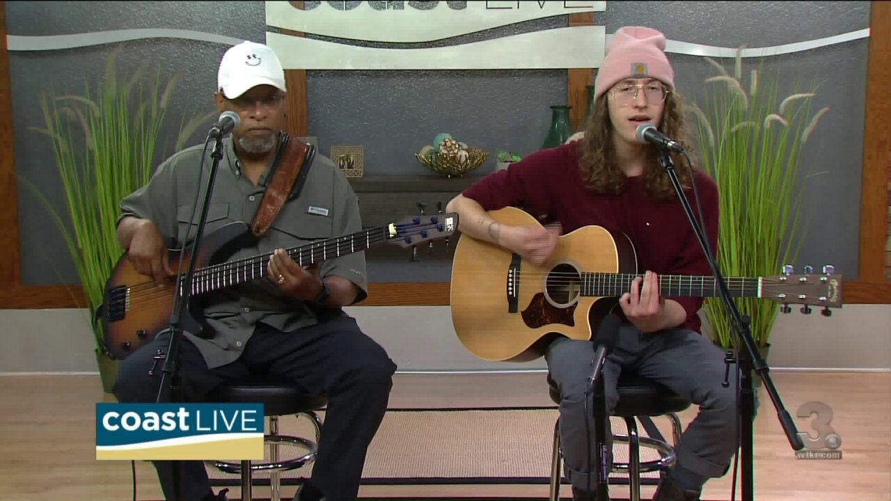 Local music spotlight with Zack Salsberry and Von Jose' Roberts on Coast Live