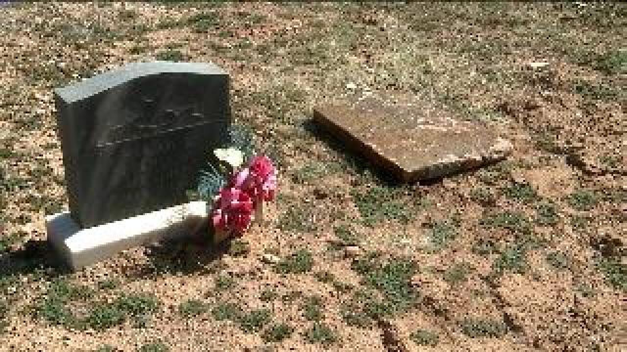From backyard to graveyard: Man follows clues, returns headstone to proper place