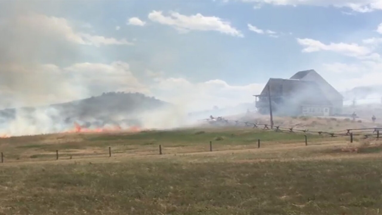 Evacuations Ordered in Loveland Due to Grass...