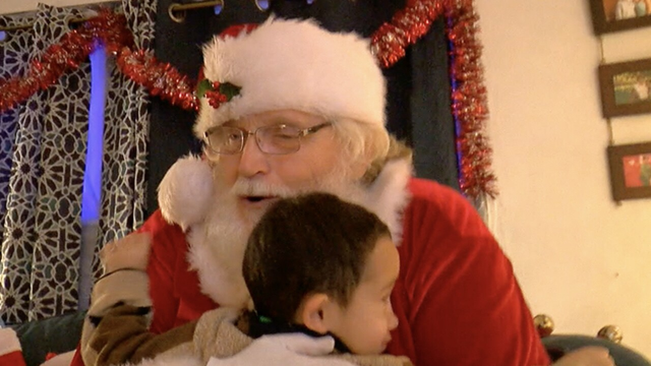 Firefighters go 'beyond the call' for Christmas