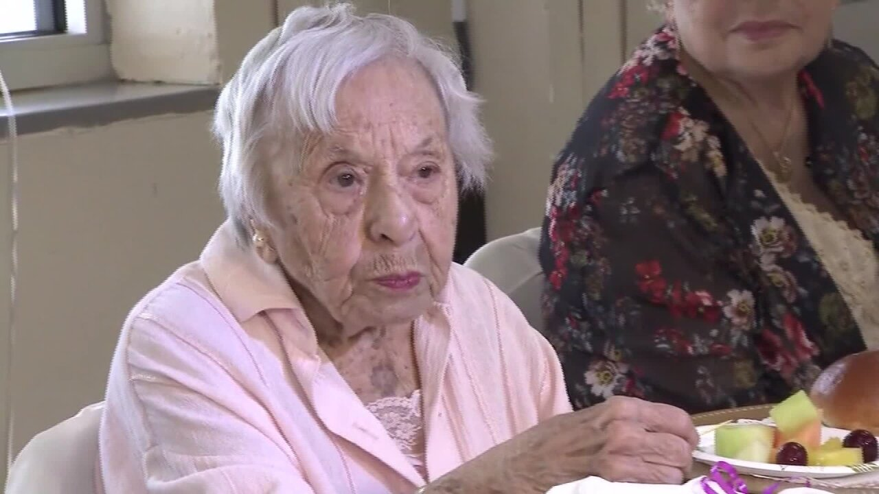 This woman just turned 107. Her secret to longevity? 'I never got married'