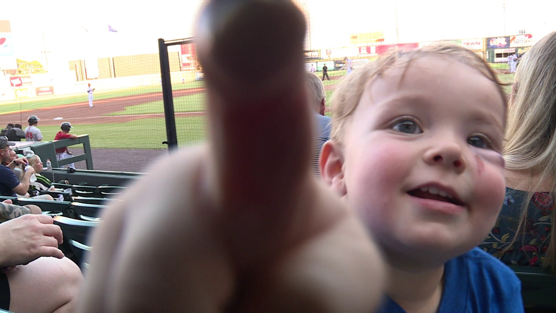 Photos: 2-year-old boy throwing out first pitch 'celebrates everything he'sovercome'