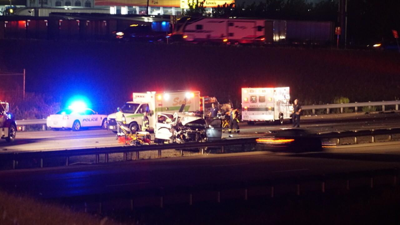4 injured after multi-car crash in Whiteland