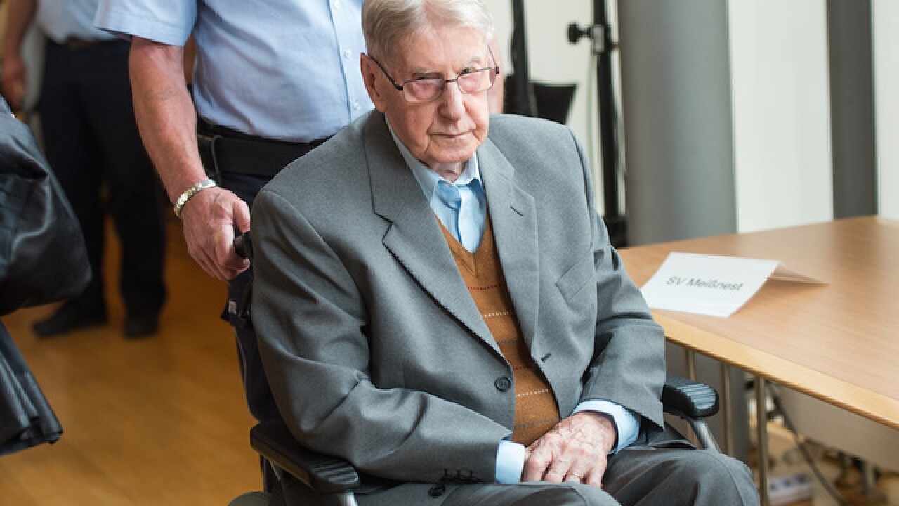 Ex-Auschwitz guard guilty of 170,000 counts related to murder, court finds