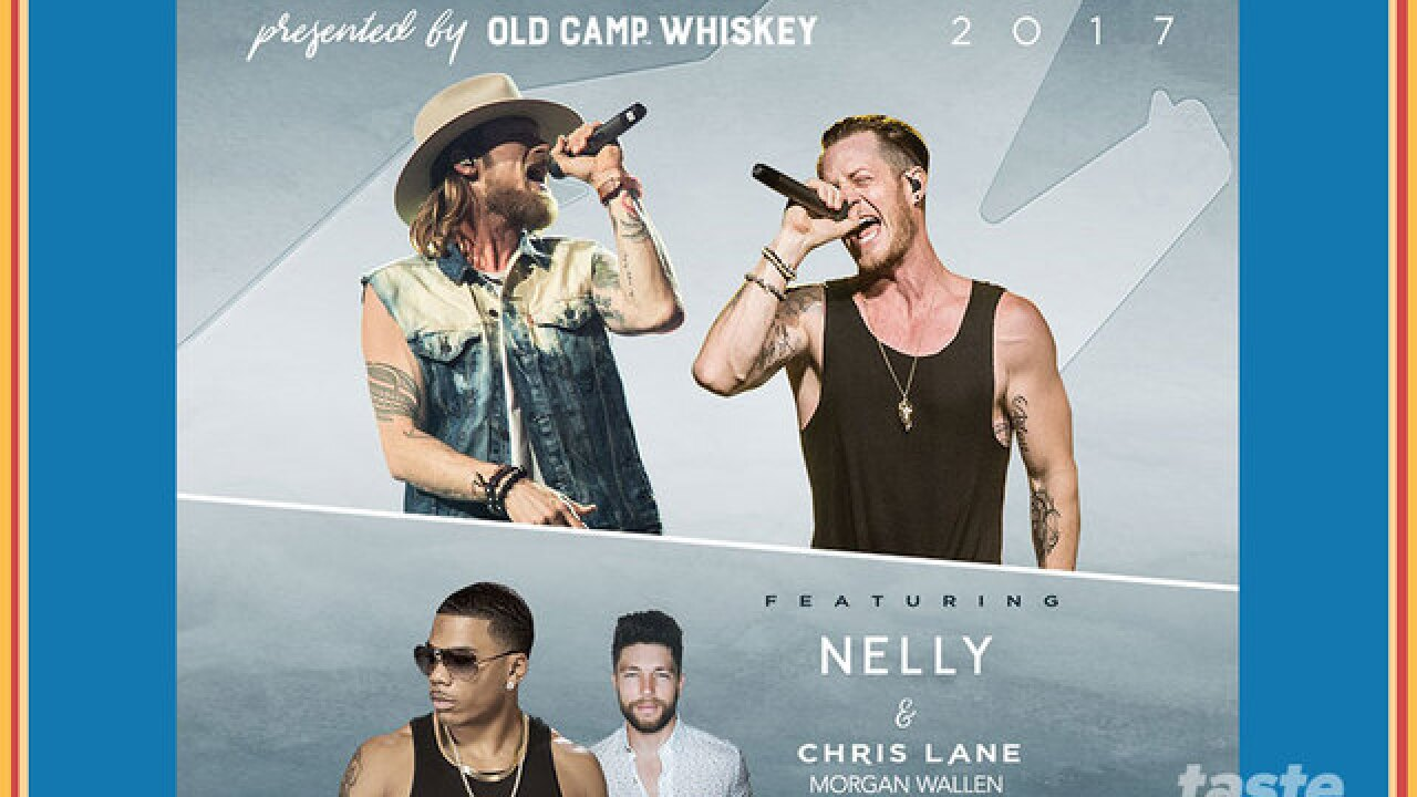 Win tickets to see Florida Georgia Line, featuring Nelly, happening next Saturday at Coral Sky Amp