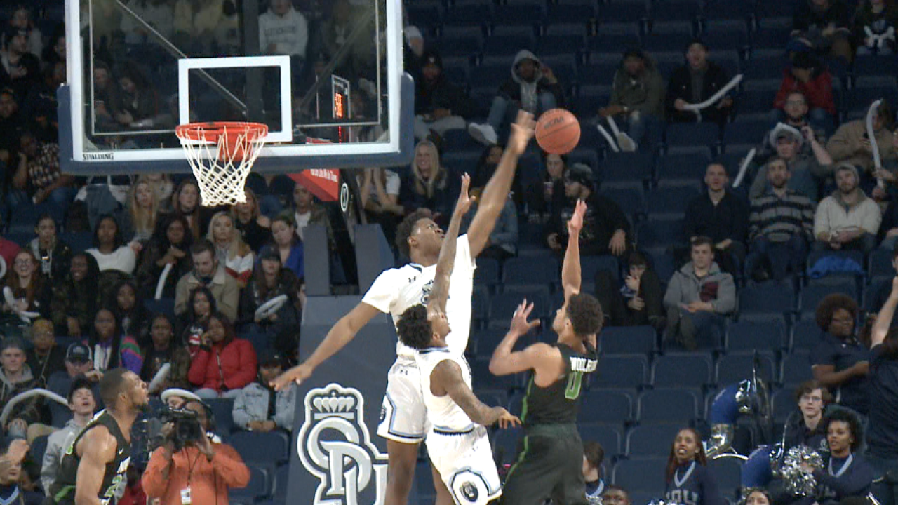 ODU men's hoops never trails against North Texas in pivotal Conference USA tilt