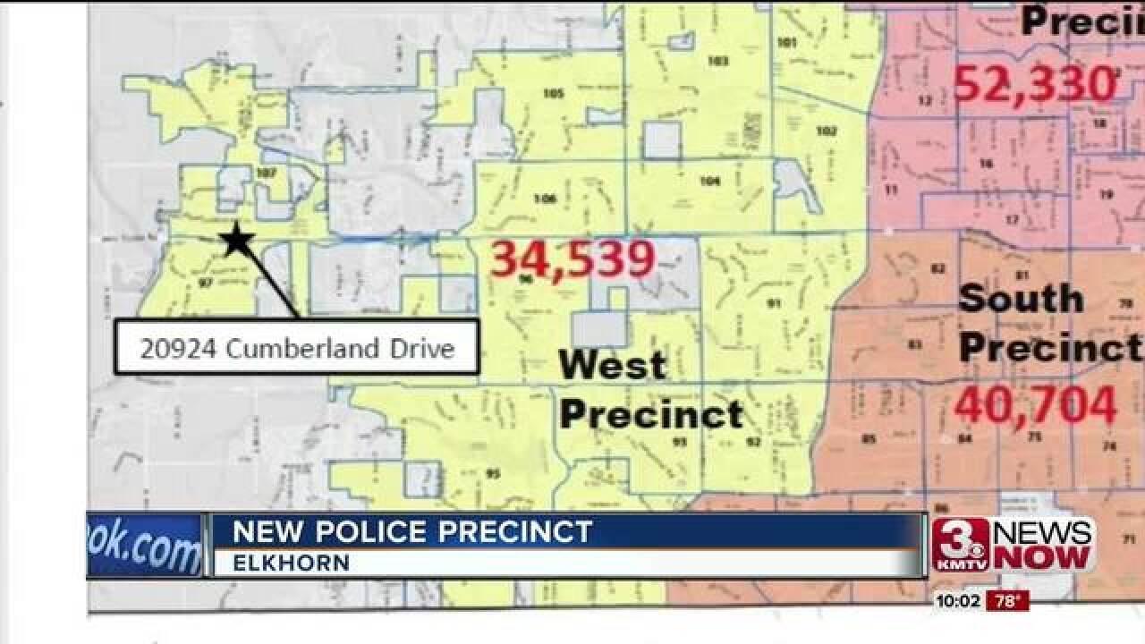 OPD breaks ground on Elkhorn precinct Wednesday