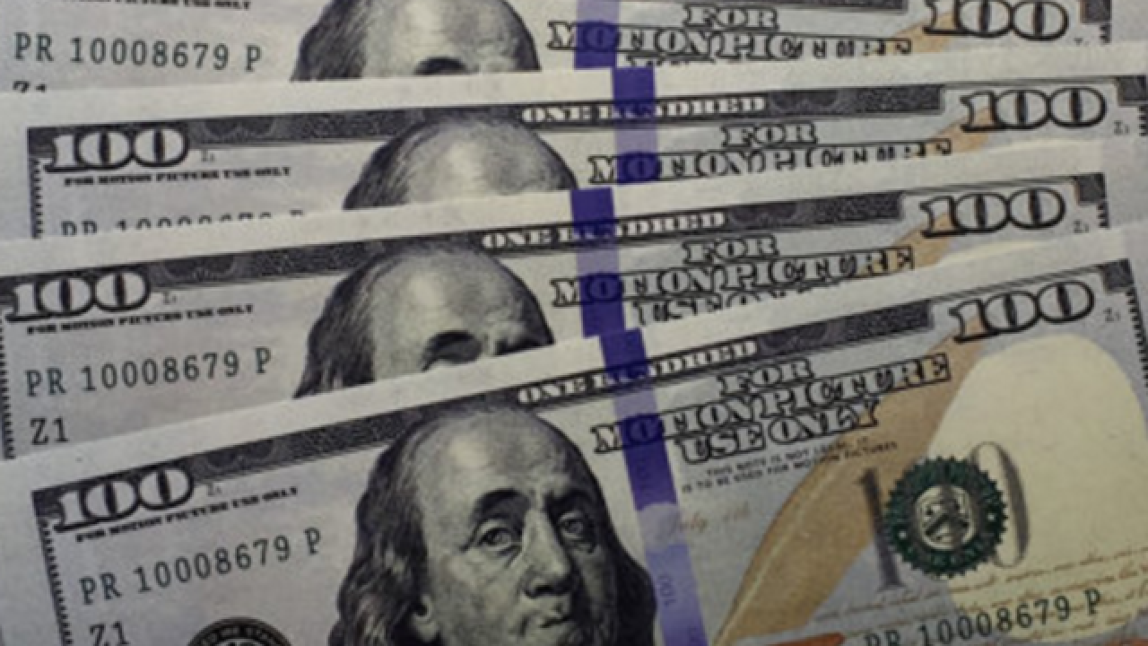 Fake $100 bills used for movies found on highway