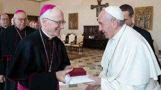 Bishop Boyea with Pope Francis.jpg