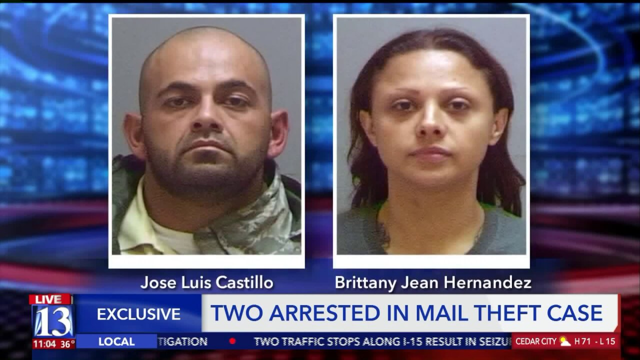Police: Suspects in Taylorsville mail thefts caught with bank cards, vehicle titles, blankchecks