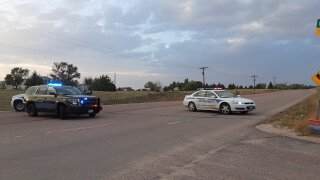 El Paso County Sheriff's Office responds to barricaded suspect in the 14000 block of Clifford Dr.