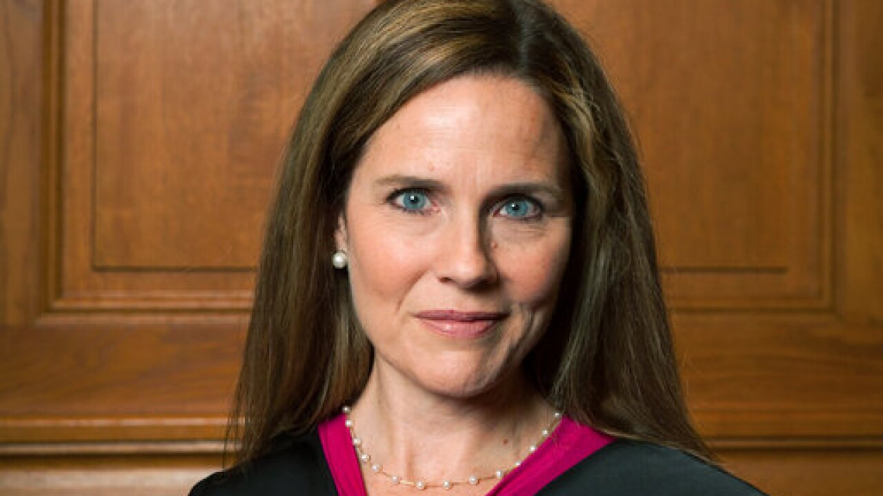 Reports: President Trump intends to nominate Amy Coney Barrett to fill Supreme Court seat