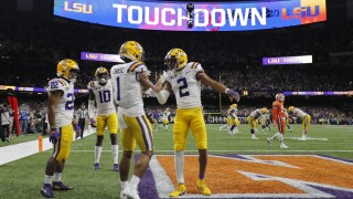 Heisman winner shines in LSU's national title win over Clemson