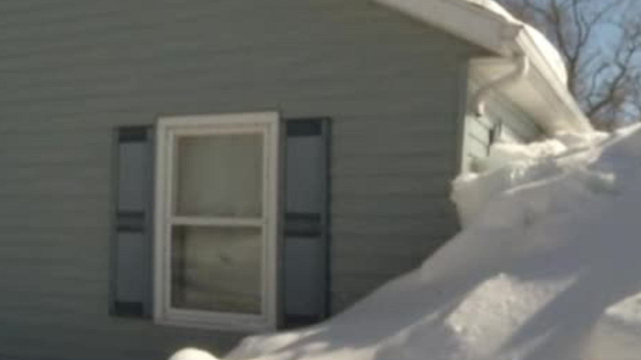 Ice shoves damage Door County cottage
