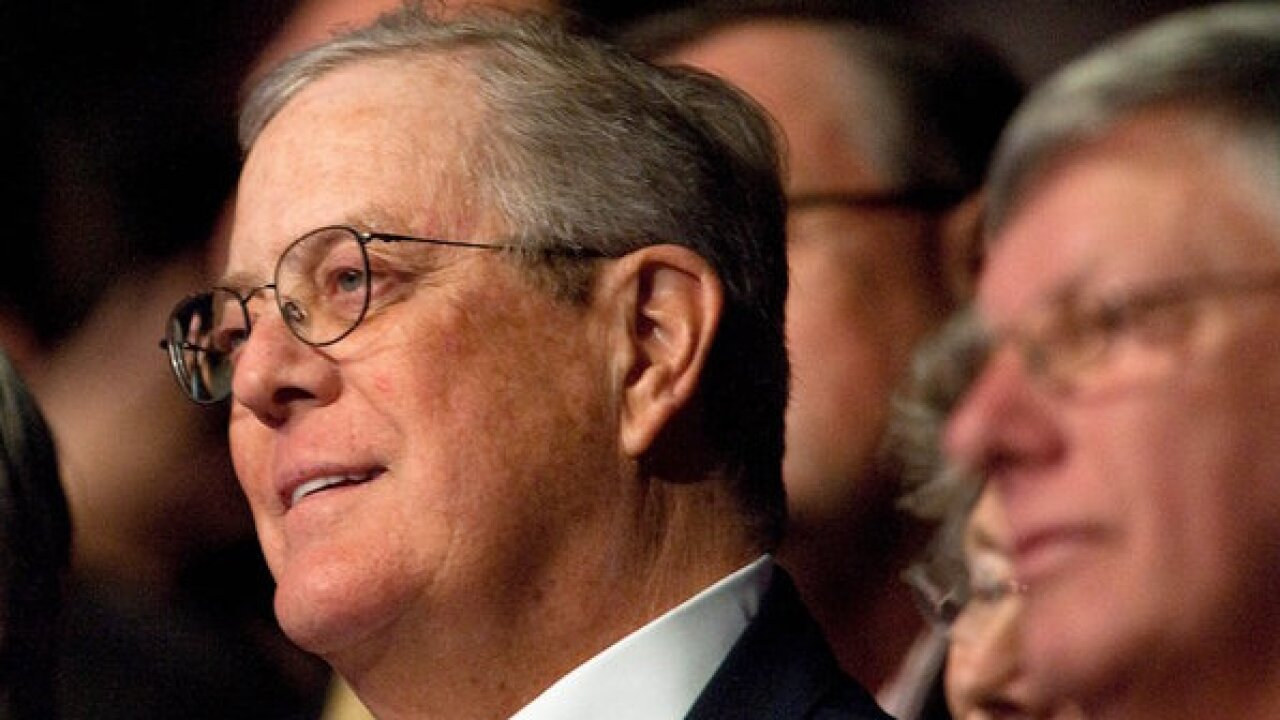GOP megadonor David Koch of Koch Industries is stepping down