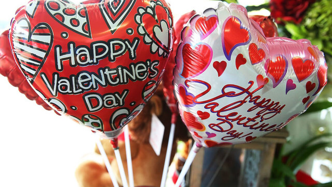 Americans will spend less on Valentine's Day this year