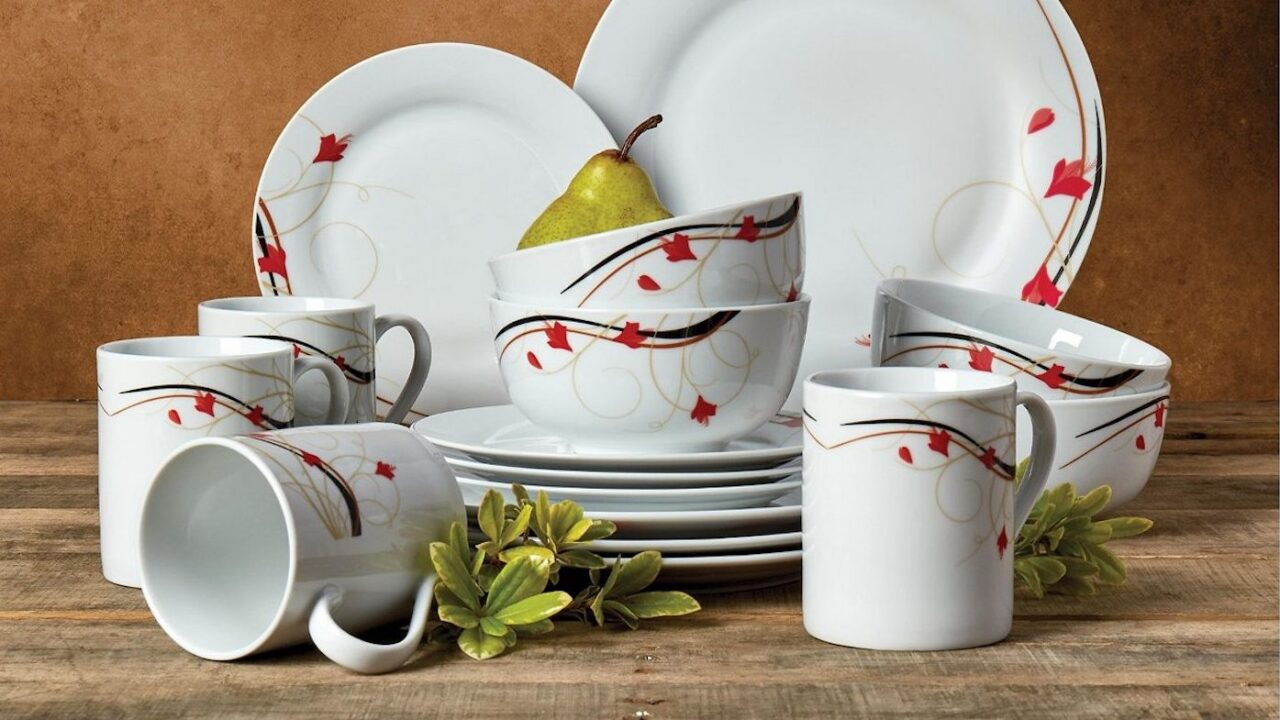 Macy's has 16-piece dinnerware sets on sale for $20 (regularly $70)
