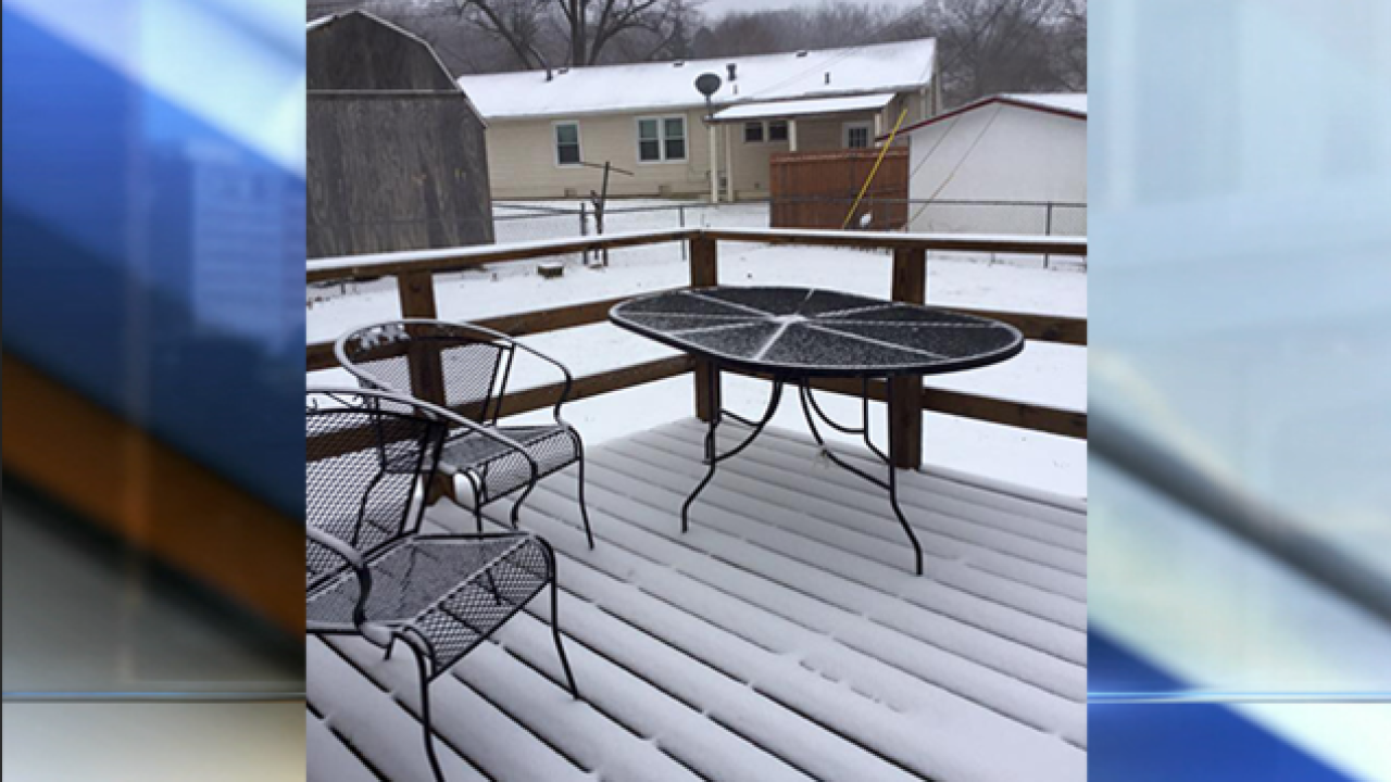 PHOTOS: First snow of 2015 arrives in metro KC