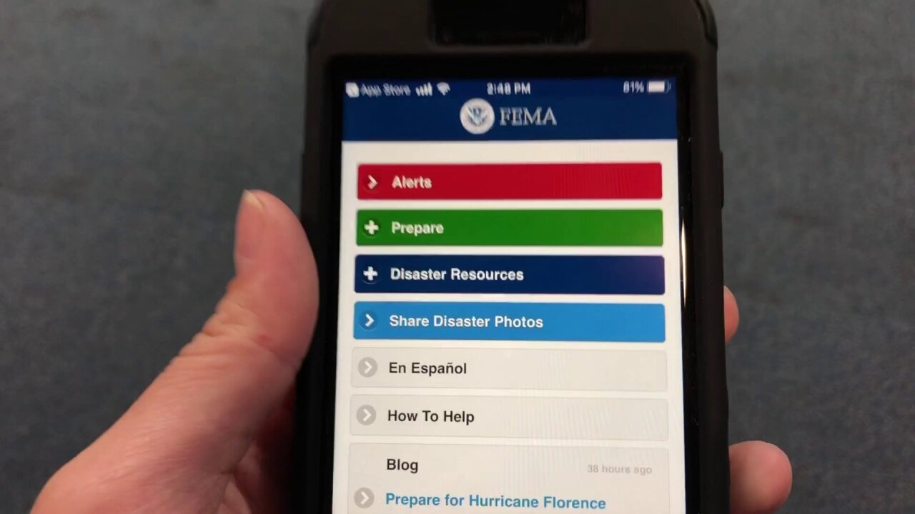 Smartphone apps to help you stay safe and connected during HurricaneFlorence