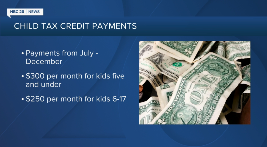 Child tax credit payments start this week