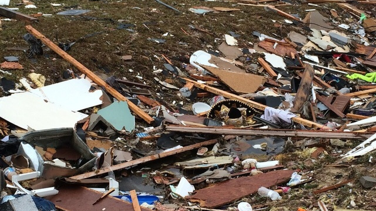 Tornado deaths over weekend exceed 2016 toll