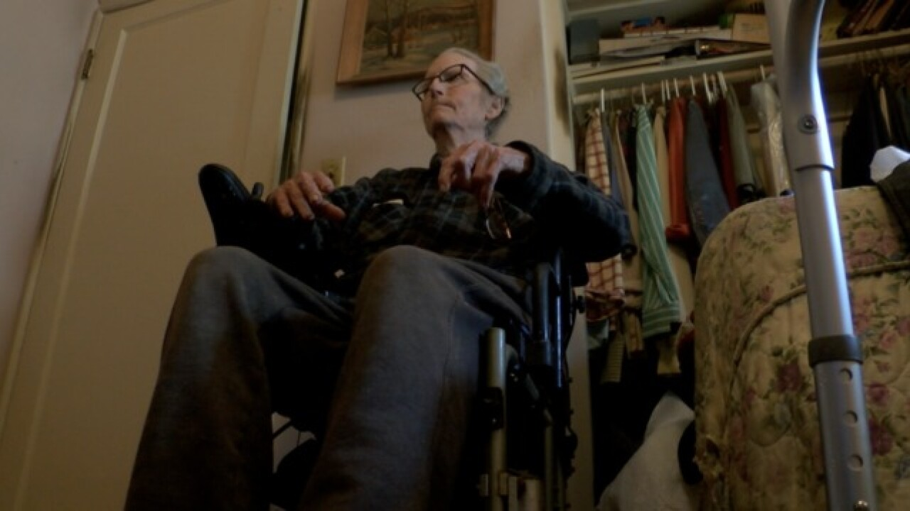 Elderly veteran attacked on mobility scooter