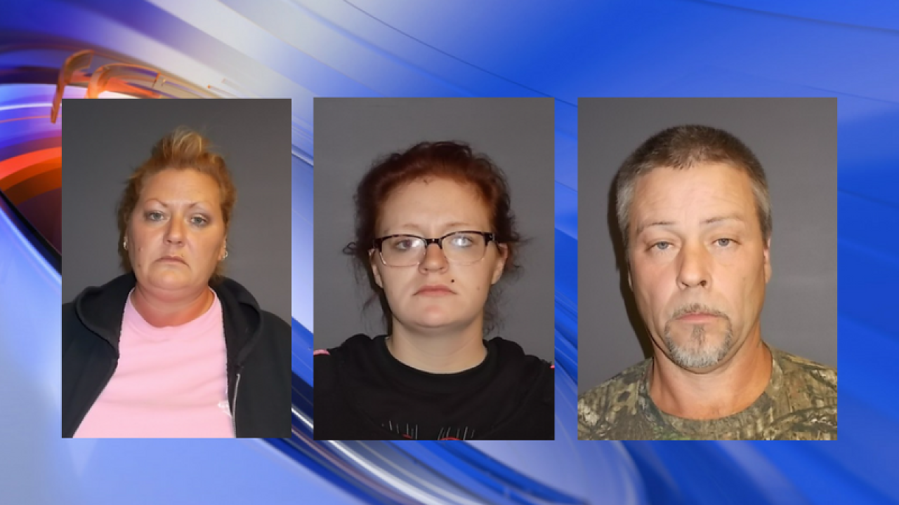 Three charged after several break-ins in Currituck County