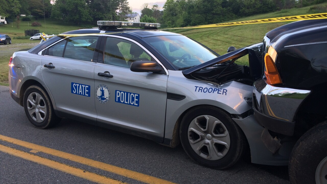 Police: Pickup driver intentionally hit Virginia State Trooper head-on