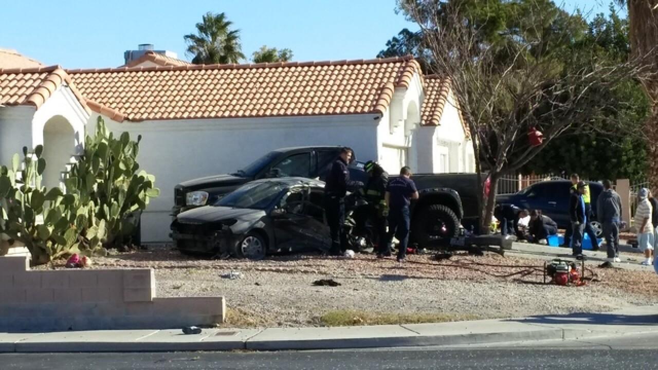 North Las Vegas police investigate fatal crash