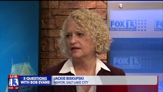 3 Questions with Bob Evans: Salt Lake City Mayor Jackie Biskupski