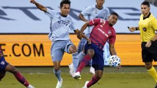 MLS FC Dallas Sporting KC Soccer