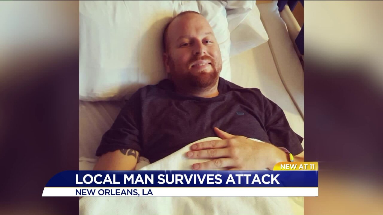 York County man recovering after being beaten and robbed in NewOrleans