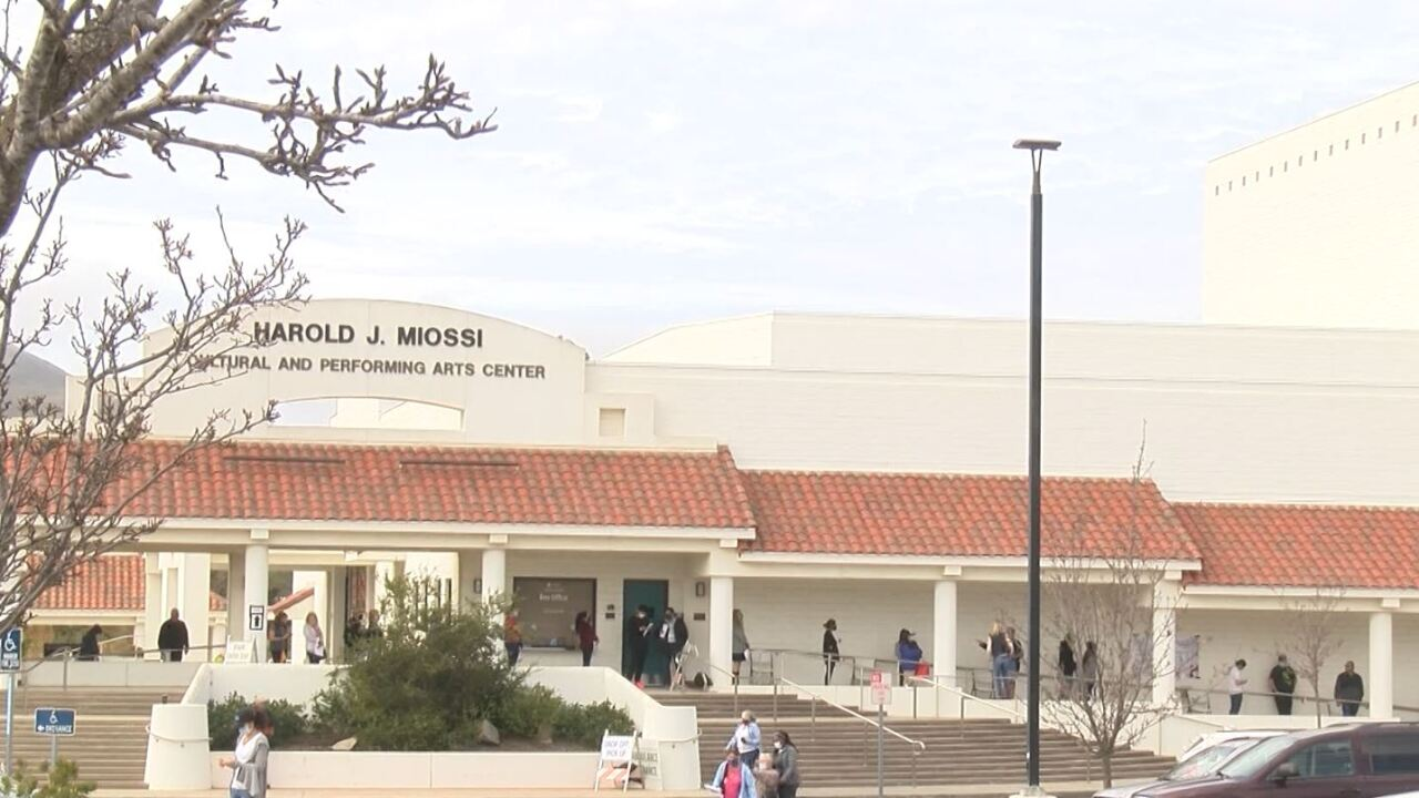 A look at the Cuesta College COVID-19 vaccination clinic