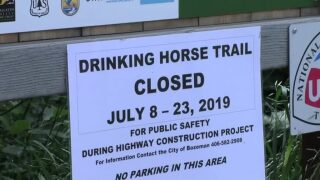Drinking Horse Trail temporarily closes during construction