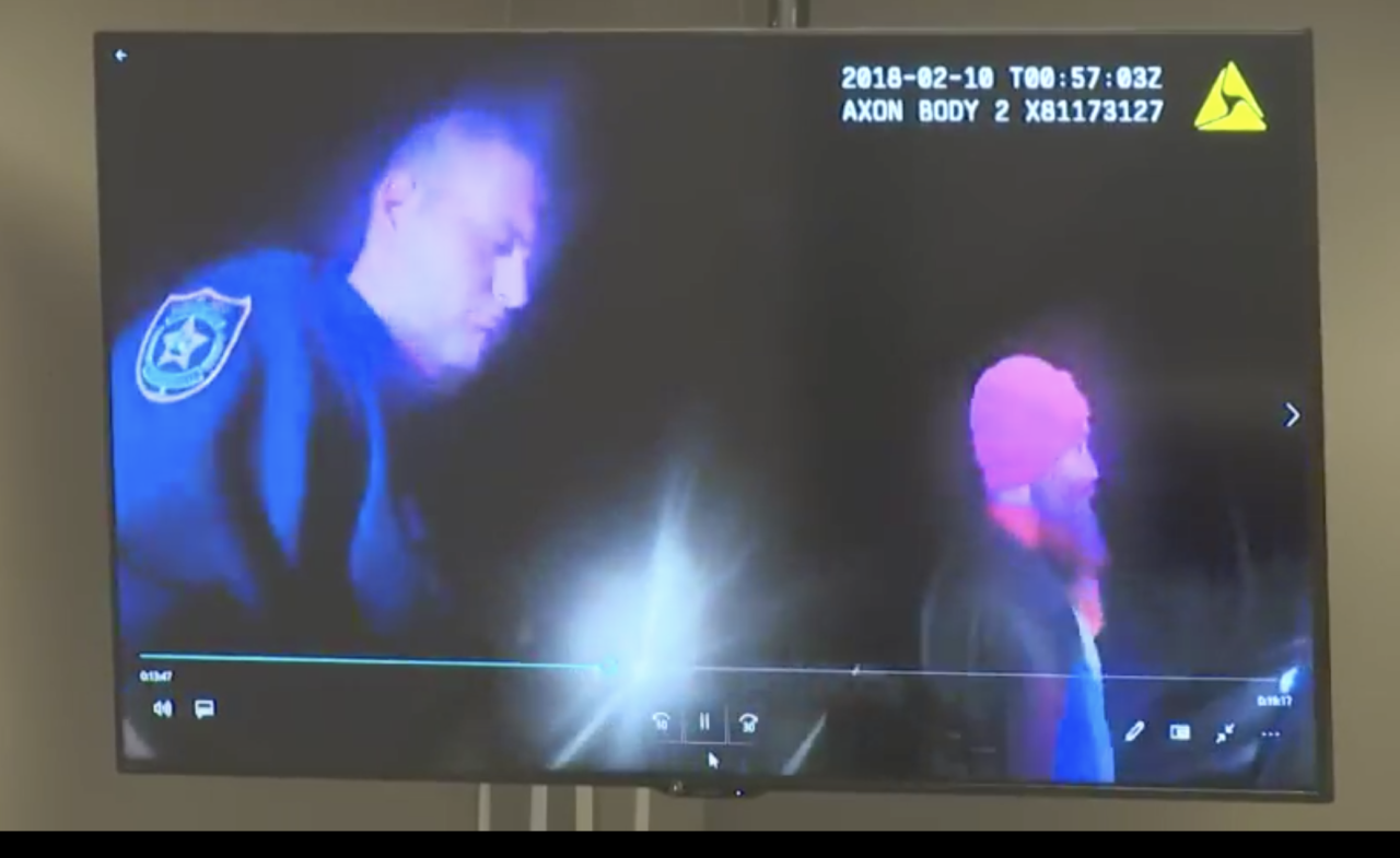 Bodycam video of Driggers and Wester