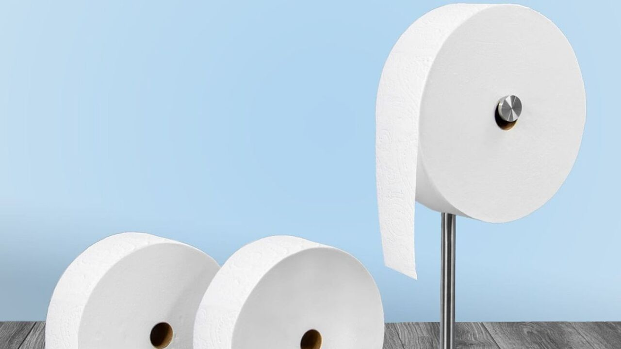 Charmin's 'Forever Roll' is a giant roll of toilet paper designed for millennials