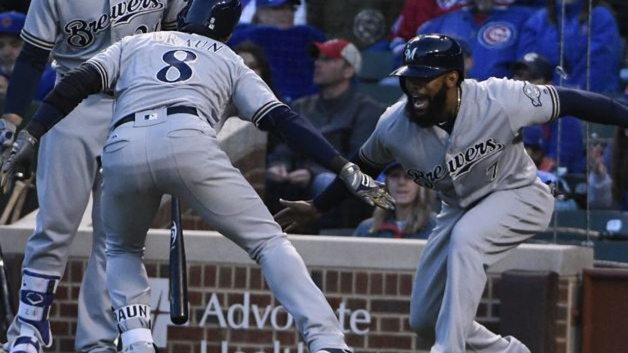 Eric Thames' walk-off home run is even better set to Titanic music
