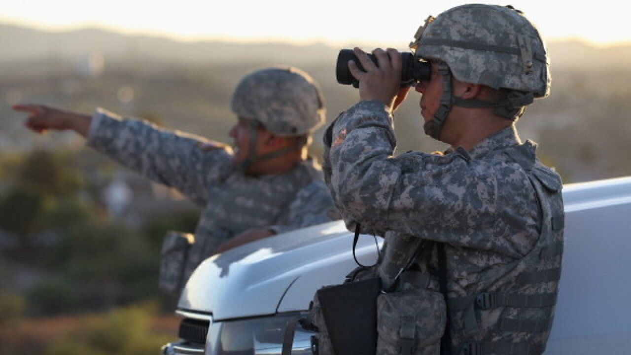 National Guard troops sent to SD ports of entry